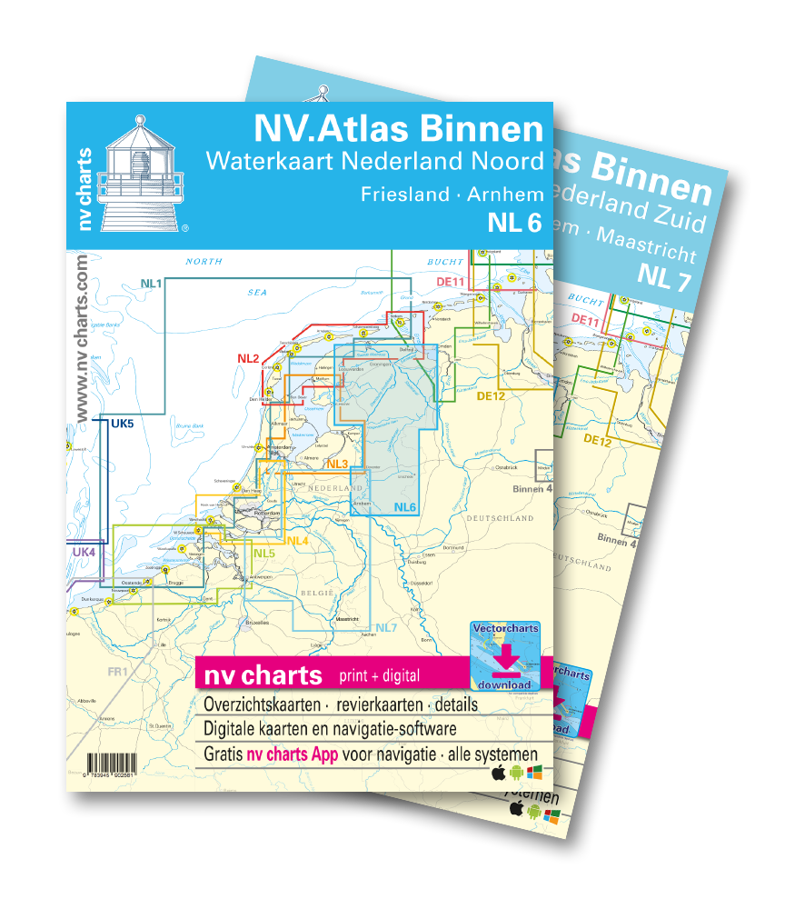 Netherland inland waters - new charts from NV