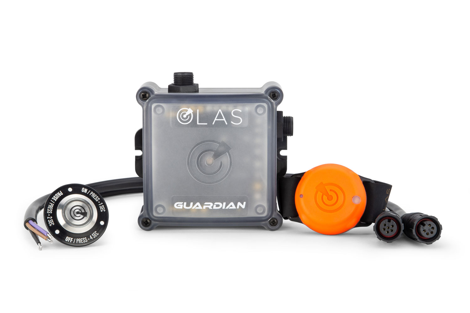 Announcing the OLAS Guardian wireless engine kill switch and overboard alarm from Exposure OLAS